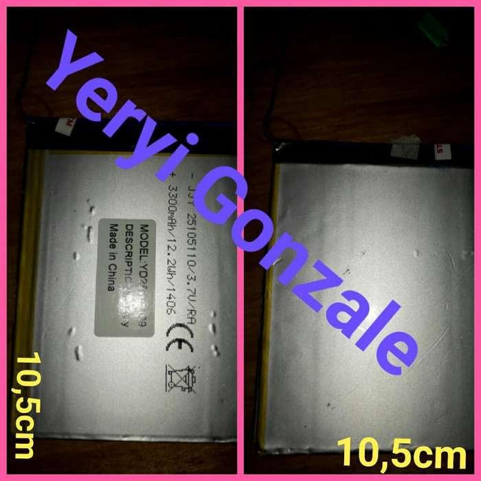 Batería para Tablet3.7v 3300mah