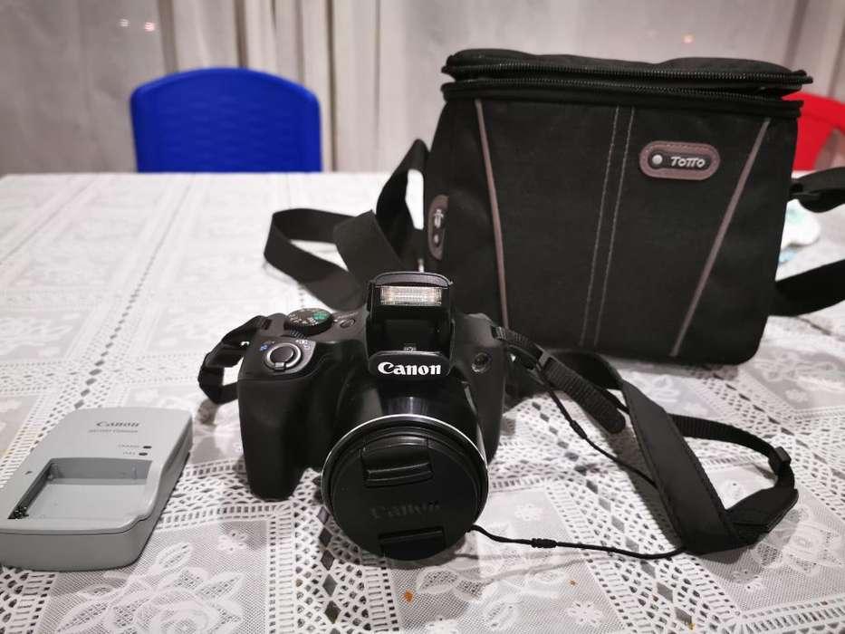 Cámara Semiprofesio Canon Sx530 Zoom 50x