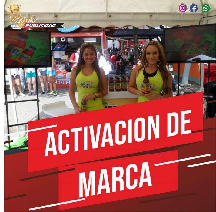 ACTIVACION DE MARCA IMPULSADORAS VOALNTERAS PROMOTORAS MODELOS DE PROTOCOLO PUBLICIDAD BTL MOTO VALLA ANIMADOR LOCUTOR