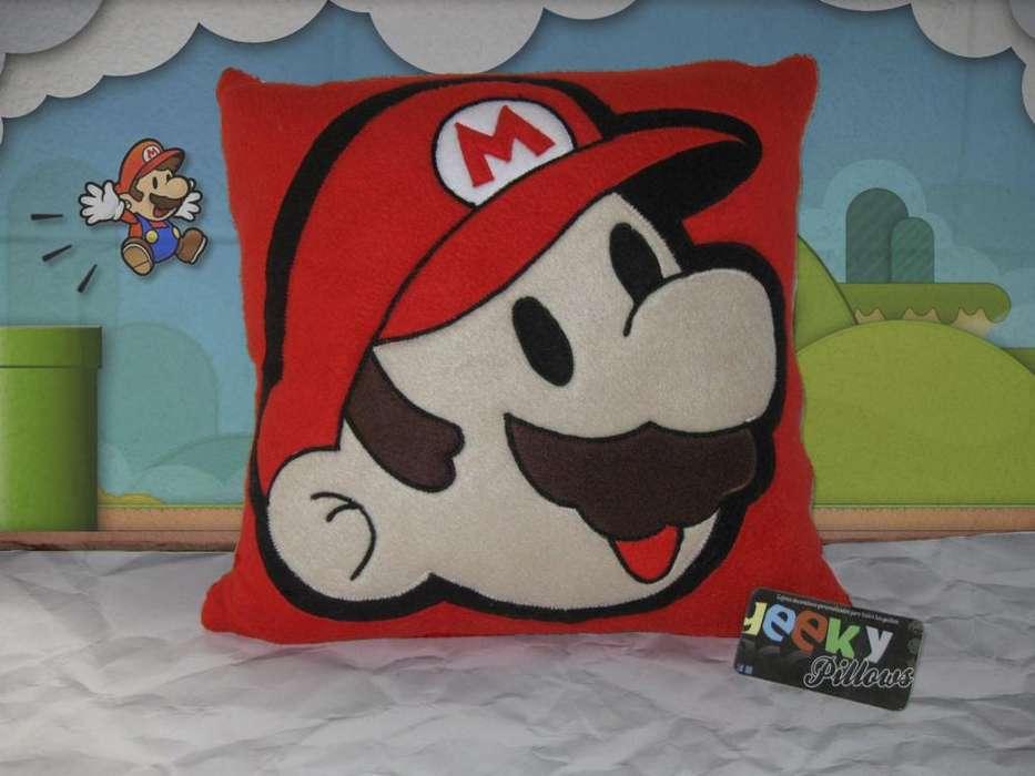 Cojin Mario Bros