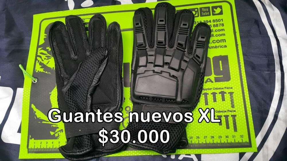 Guantes Nuevos XL, Paintball