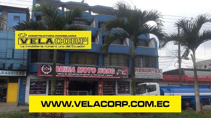 VENDO EDIFICIO COMERCIAL EN LA VIA QUEVEDO KM 1