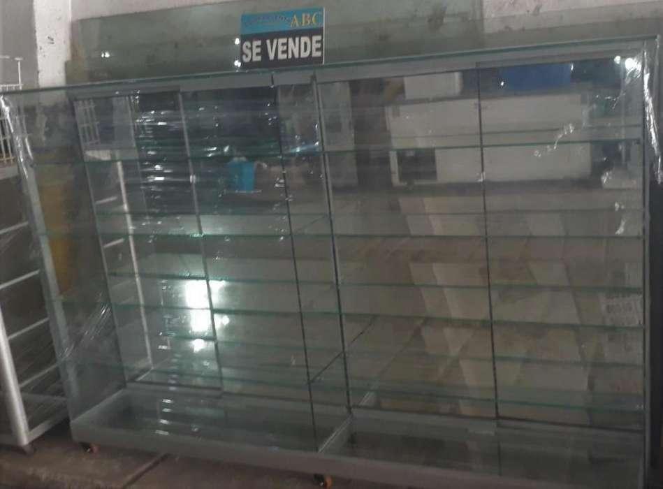 VITRINA LUJOSA CON FONDO DE ESPEJO (ABC)