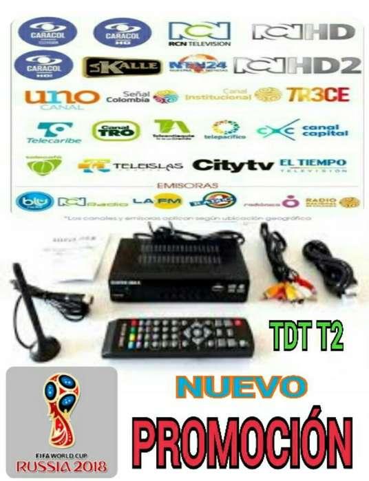 Decodificador Tdt Dvb T2 con Puerto Usb
