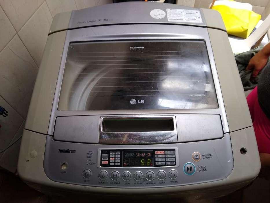 Lavadora 35 Libras Lg Turbo