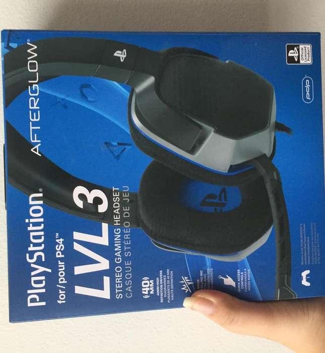 Audifonos Gamer Playstation Afterglow Vol3
