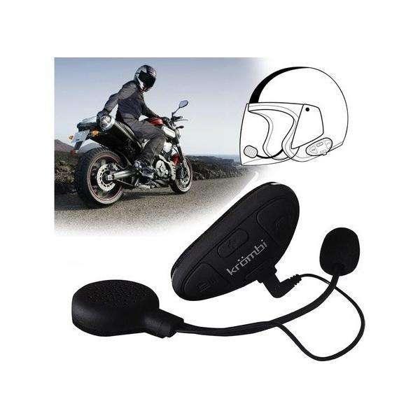 Intercomunicador Moto Para Cascos Bluetooth Krombi Celular