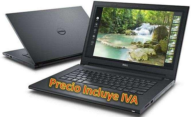 Laptop Portátil Dell Core I5 7ma Gen 8gb 1tb Led 14, I3 i7 PRECIO INCLUYE IVA ENTREGA A DOMICILIO