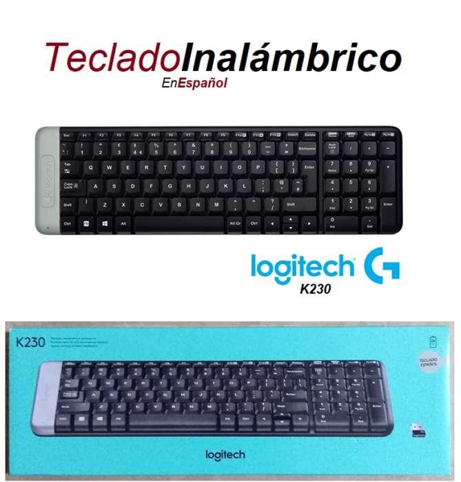 TECLADO INALAMBRICO LOGITECH MK230