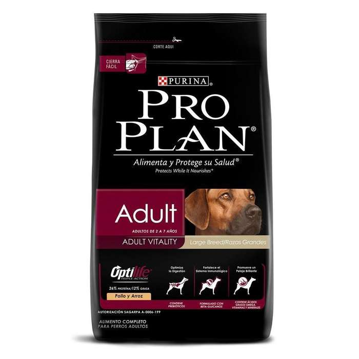 Pro plan large breed adult vitality