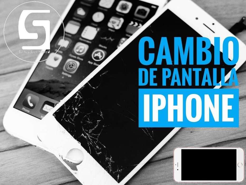 Cambio Pantalla iPhone 5 6 7 8 Plus
