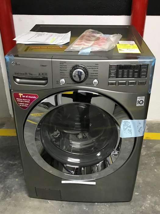 Lavadora / Secadora LG Inverter 20kg