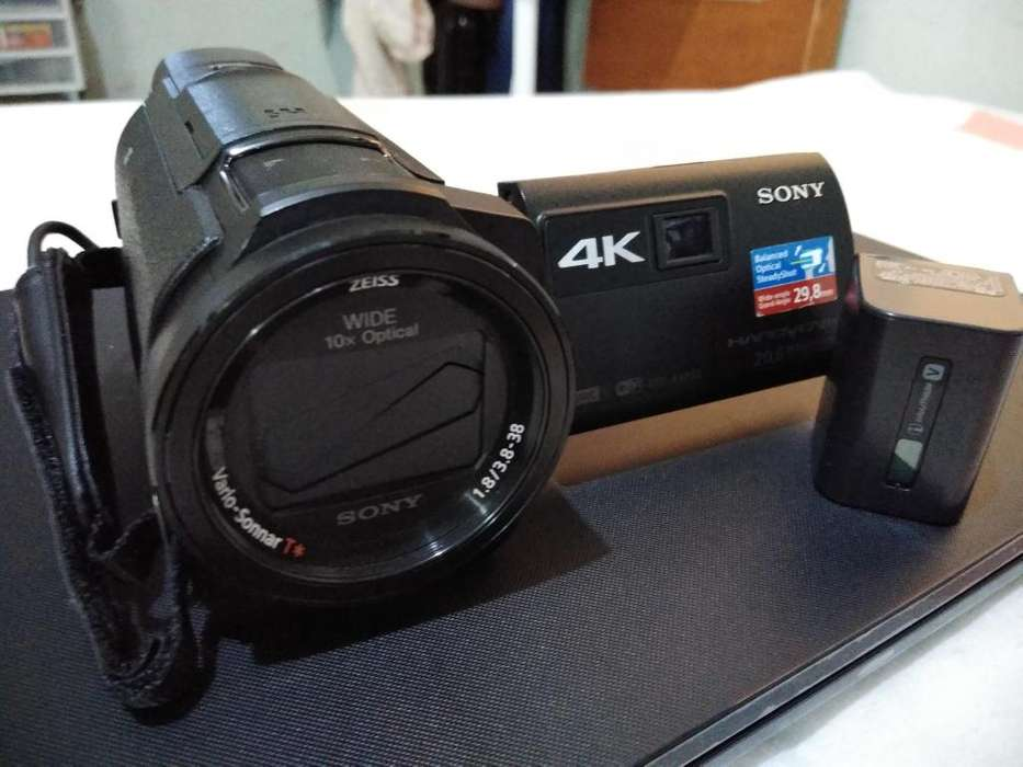 Vendo camara de video <strong>sony</strong> 4k