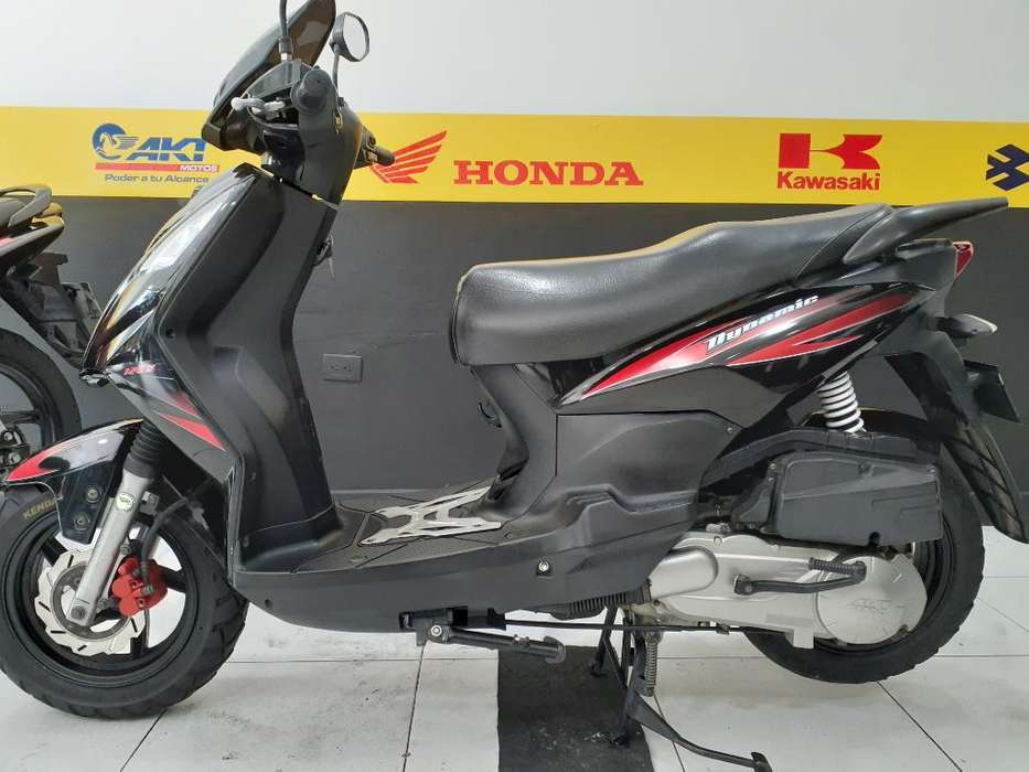 Dynamic 125 Negra Modelo 2014