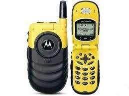celular nextel i554 yellow black para RADIO a tarjeta