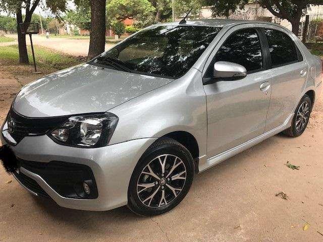 Toyota Etios Sedan 2018 - 19300 km