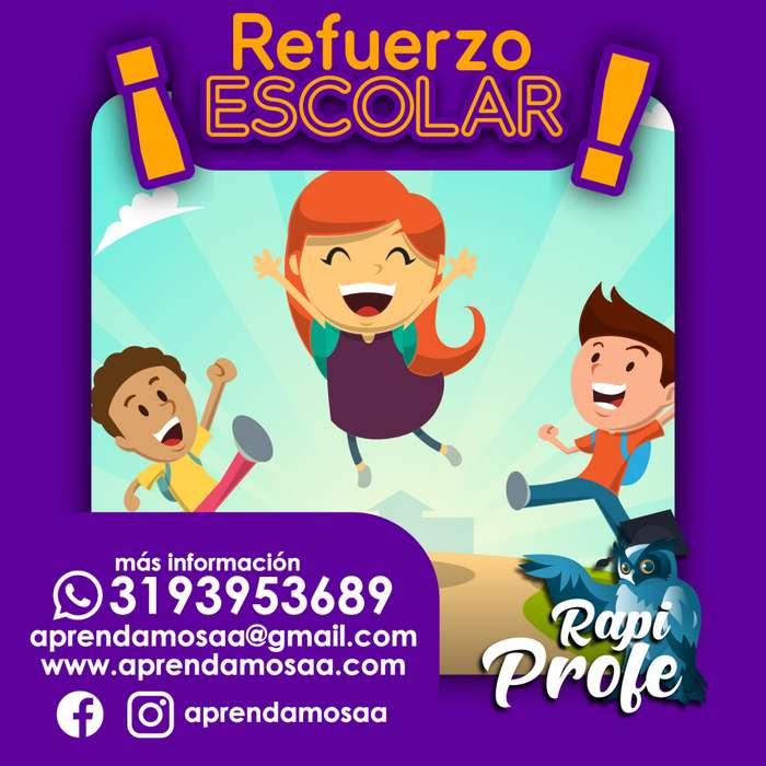 Refuerzo Escolar a domicilio en barranquilla, ayuda y control de tareas, preescolar y primaria, Cel/Whatsapp: 3193953689