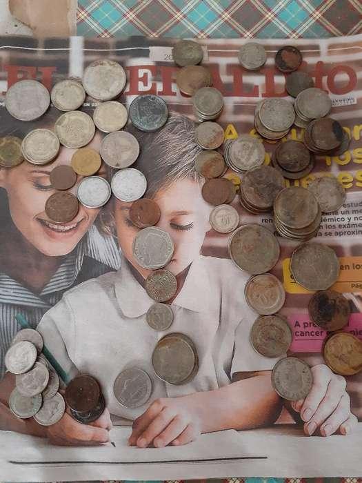 Lote Monedas Antiguas Diversos Paises