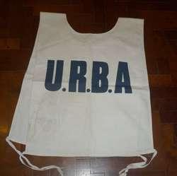 antigua pechera chaleco para Fotografo partidos de Rugby Torneos de la URBA