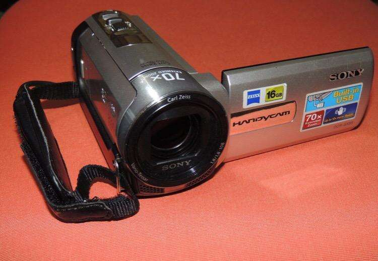 <strong>videocamara</strong> Sony Handycam Dcr-Sx85