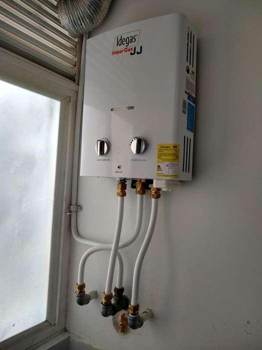 venta e instalacion de todo tipo de calentadores a gas