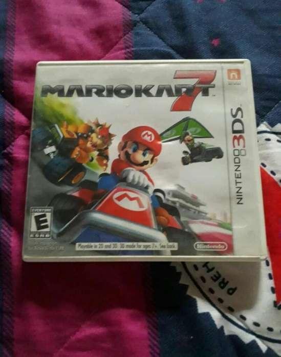 Mario Kart 7 Como Nuevo For 3ds