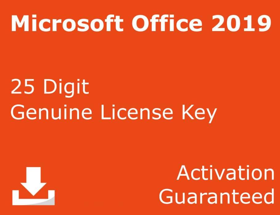 Office Pro Plus 2019-Llave Original Para Pc
