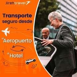 transporte terrestres a nivel nacional / transporte hotel-aeropuerto-hotel o casa
