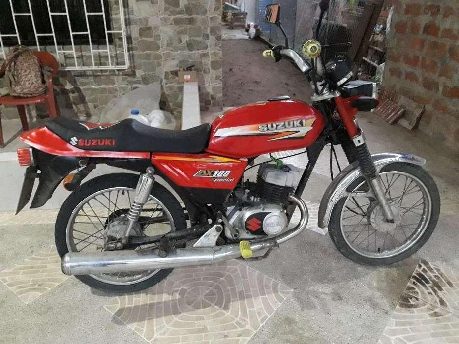 Vendo Moto Ax 100 Año 2006, Precio Negoc
