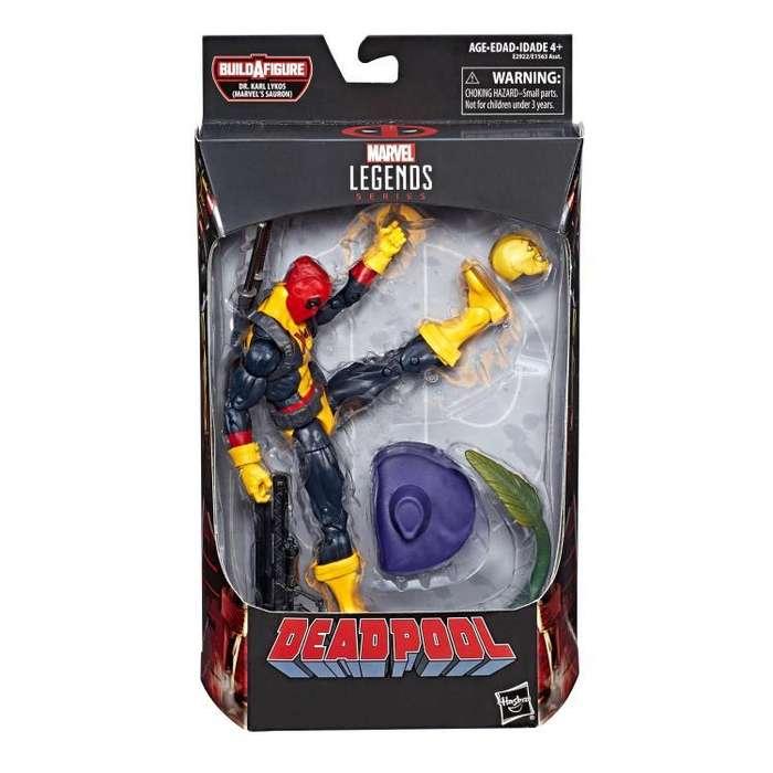 Figura Marvel Legends Deadpool Xmen baf Sauron