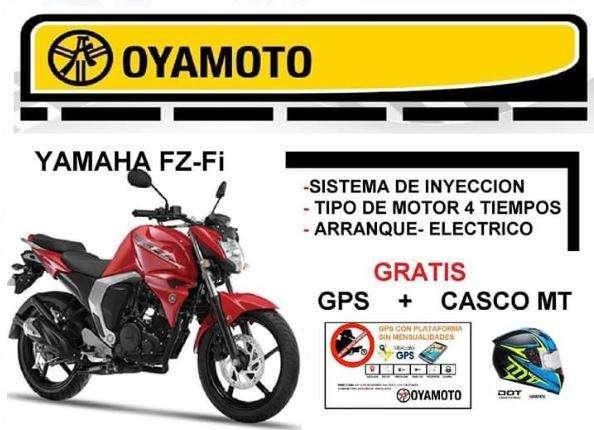 Moto Yamaha FZ-FI Gratis GPS <strong>casco</strong> MT