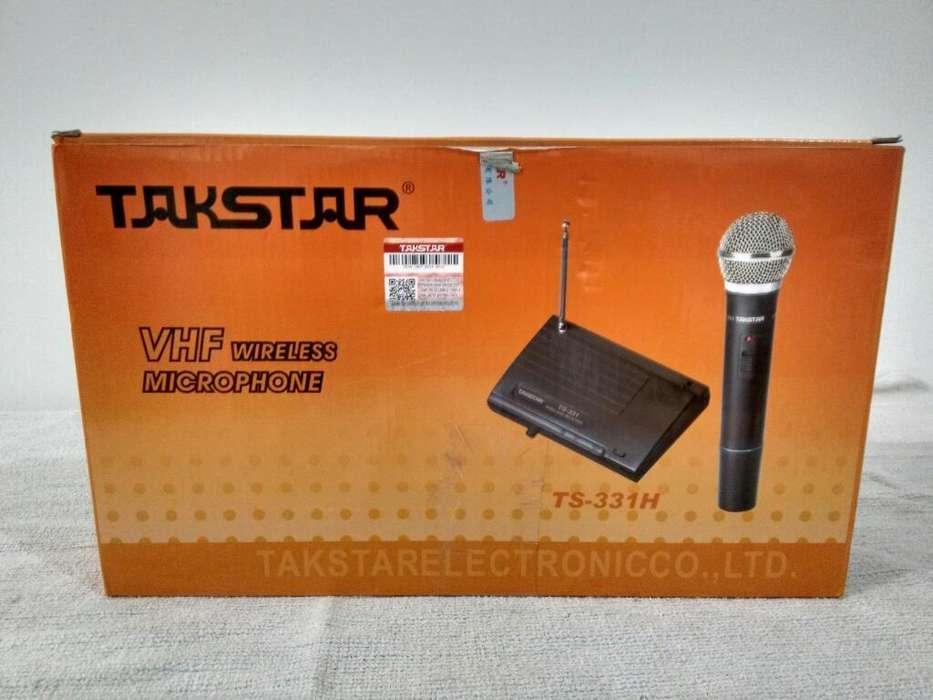 Micrófono Takstar Inalámbrico 331h 50 Mt