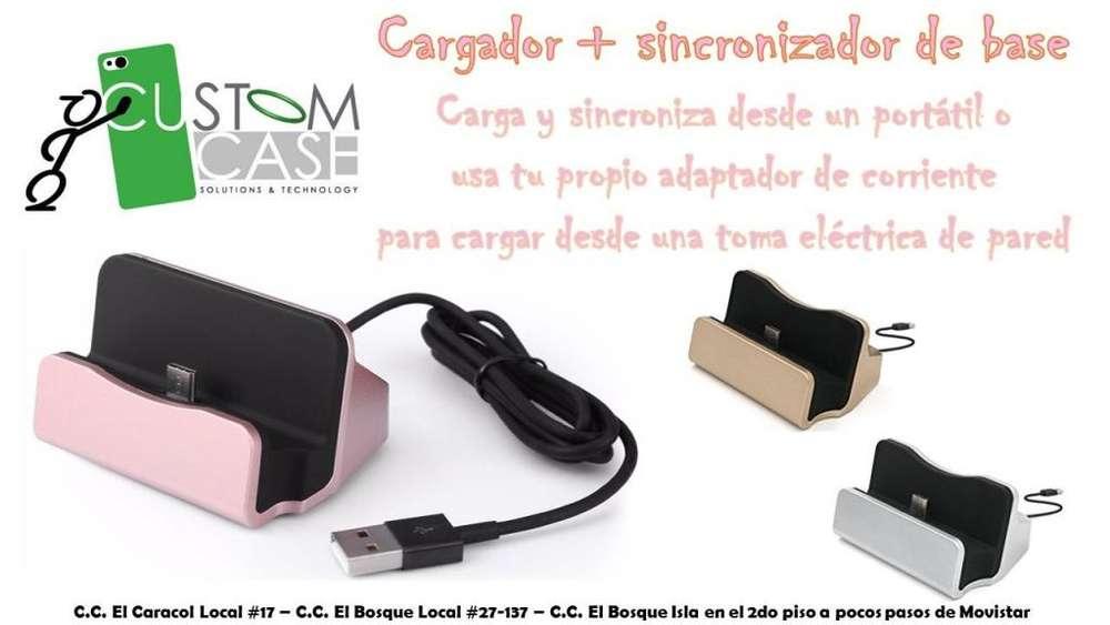 CARGADOR DE BASE SAMSUNG / LG / HUAWEI / SONY