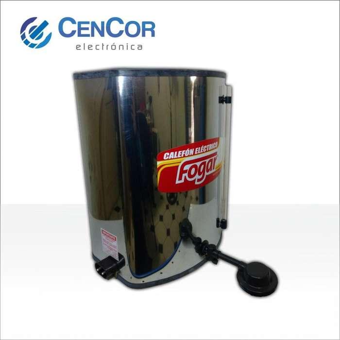 Calefon Eléctrico De Acero 25 Litros Fogar! CenCor Electrónica