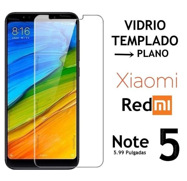 Vidrio Templado Plano Xiaomi Redmi Note 5 Rosario
