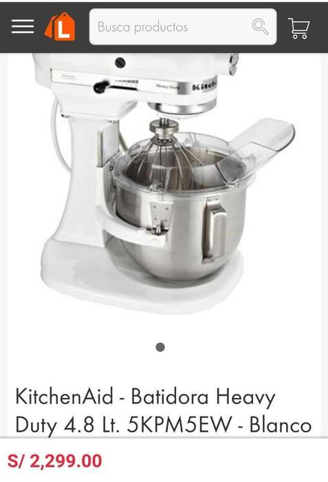 Kitchenaid Heavy Duty 4.8 No Sony,bosch