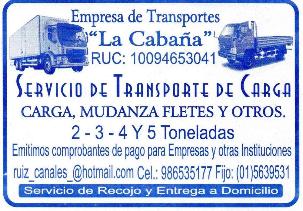 EMPRESA DE TRANSPORTES LA CABAÑA