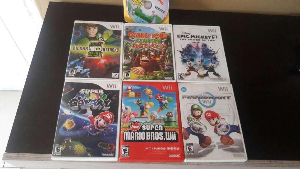 Lote de Juegos para Wii