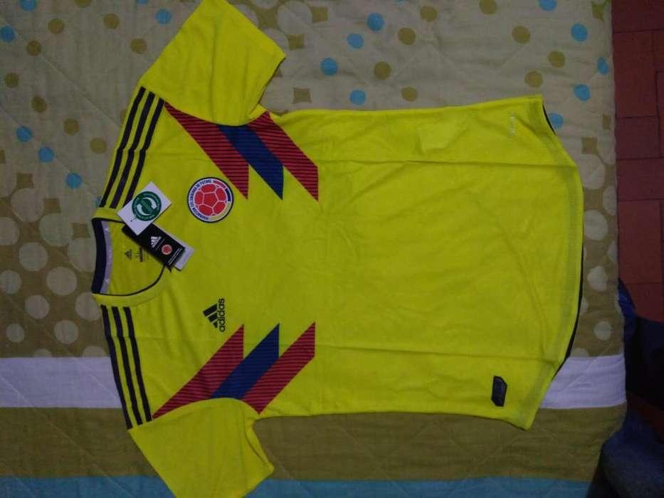 Camisa Seleccion Colombia 2018 Techfit
