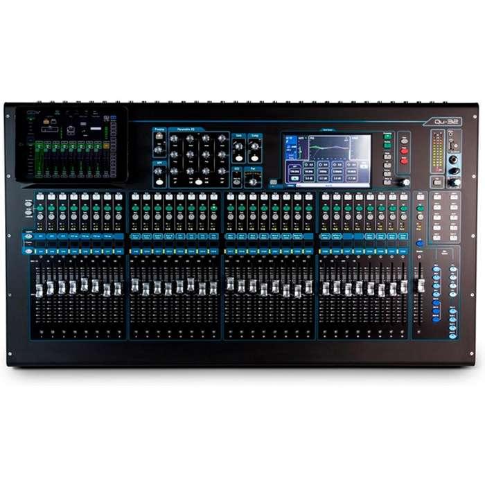 Consola Allen & Heath QU32X mezclador sonido digital