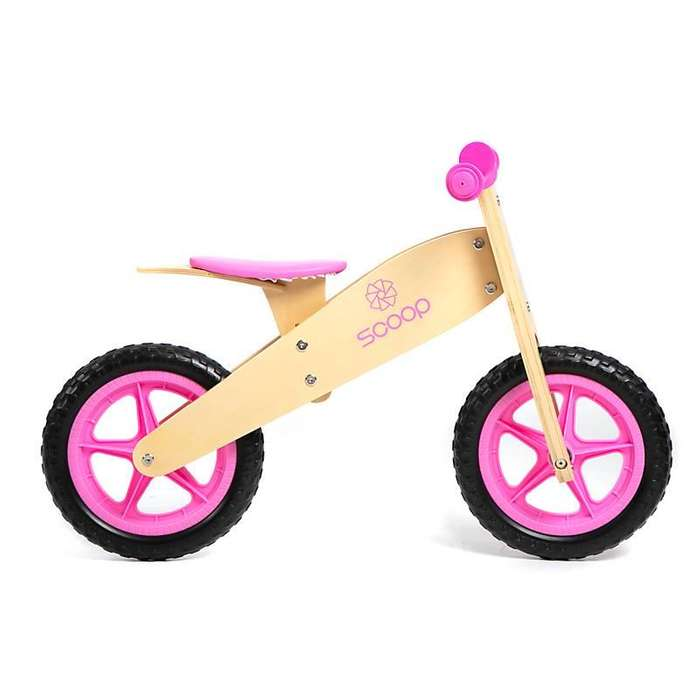 Camicleta Bicicleta infantil De Inicio De Madera Scoop Sin Pedales Nueva Oferta