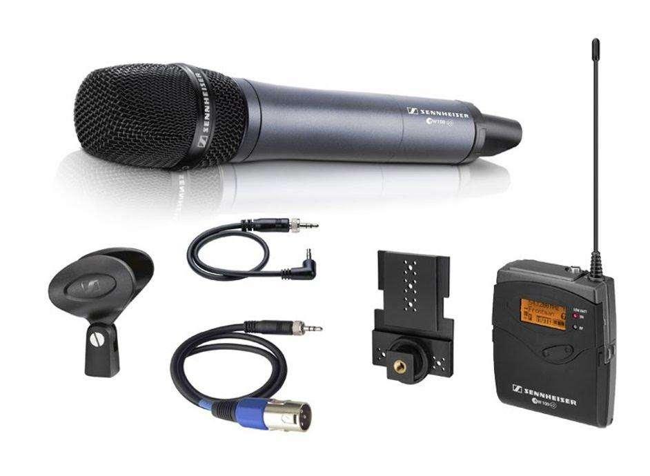 Sennheiser Ew 135p G3 Microfono Inalambrico De Mano En Uhf para cámara