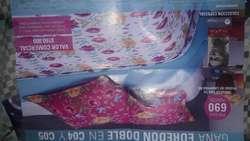 Edredon Doble Fax para Cama Doble