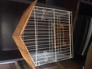 Jaula mediana para pájaro o conejo