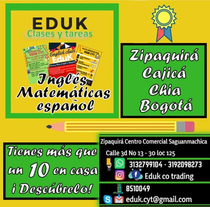 CLASES EN MATEMÁTICAS Y TODA ÁREA (INGLÉS, FÍSICA ETC) Bogotá-Cundinamarca (Zipaquirá-Chía-Cajica,- 3132799104