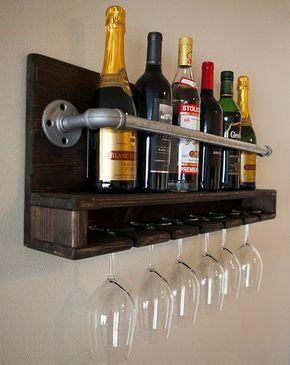 porta botellas bar