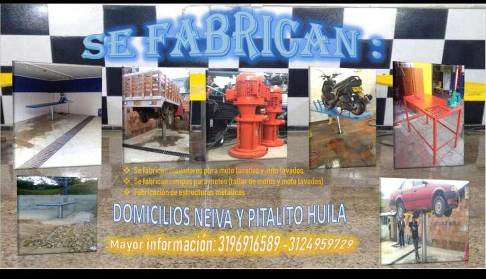 Fabricacion Elevadores Y Rampas