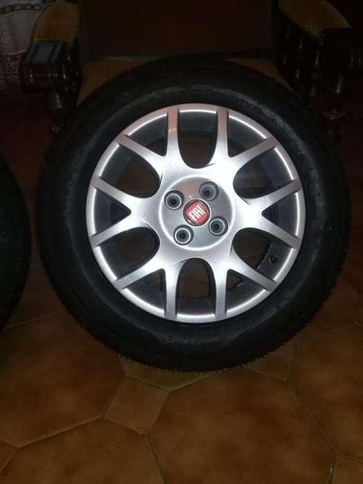 DOS <strong>llanta</strong>S NUEVAS SIN USO FIAT PUNTO 3517886101 LIQUIDO!!