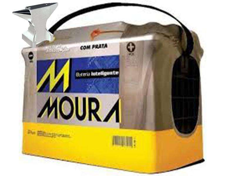 <strong>bateria</strong> 12x75 Giesler reforzada moura
