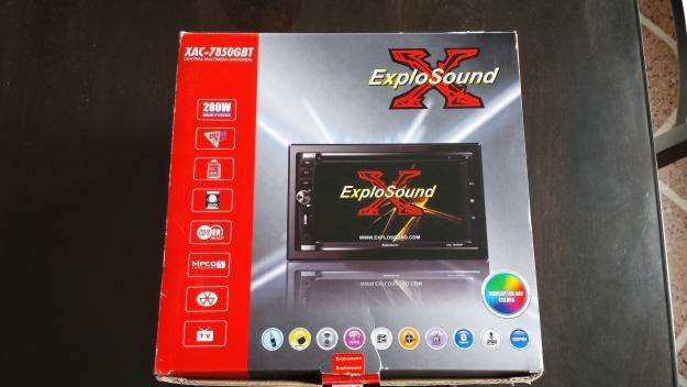 Stereo Central Multimedia Universal ExploSound XAC7850GBT. NUEVO SIN USO